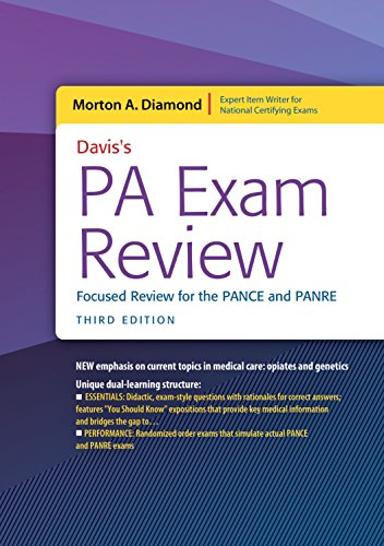 Ebook Davis's PA Exam Review: Focused Review for the PANCE and PANRE<br />PPT