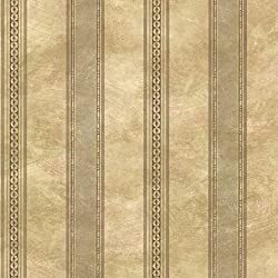 Chesapeake SRC76197 Castine Tuscan Stripe Wallpaper, Moss