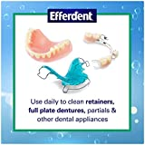 Efferdent Plus Mint Anti-Bacterial Denture Cleanser   90 Tablets