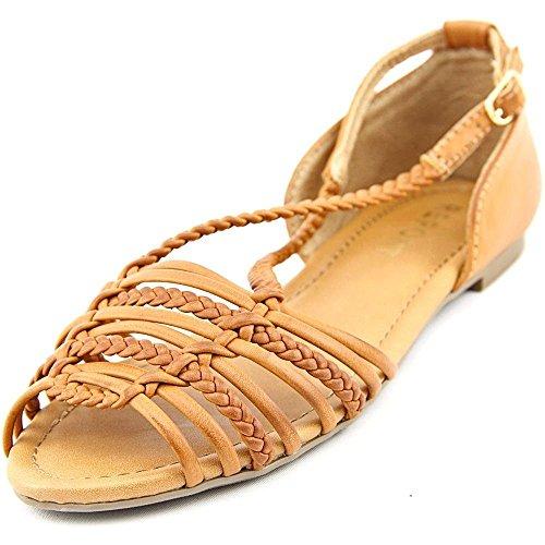 Report Signature - Sandalias de vestir para mujer canela