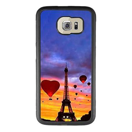 Amazon.com: Carcasa para Samsung Galaxy S6, diseño de globo ...