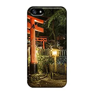 Hard Plastic Iphone 5/5s Case Back Cover,hot Entrance Into A Temple In China Case At Perfect Diy