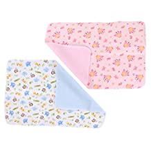 Staringirl 2 Piece Baby Waterproof Washable Reusable Changing Pad Changing Mat to Diaper Change Waterproof Sheet for Any Places 31.49x39.37 inch