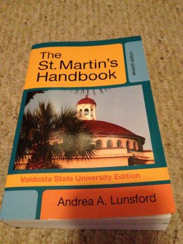 THE St. Martin's Handbook for Valdosta State University Edition