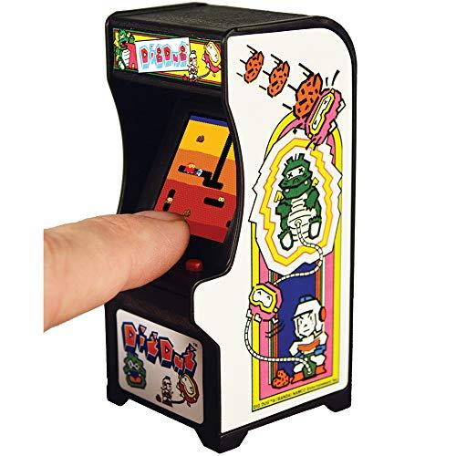 Super Impulse Dig Dug Miniature Arcade Game Cabinet - Sound & Plays Like Original Ages 8+