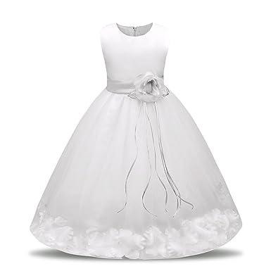 13057f2f11741 Filles Paillettes Robes PANPANY Enfant en Bas âge Filles Bling Paillettes  sans Manches Robe
