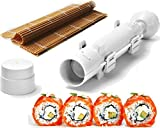 : Sushi Set - Sushi Bazooka and Sushi Mat, Kitchen Appliance Machine Rice Roller Making Kit, Cook&LifeShop