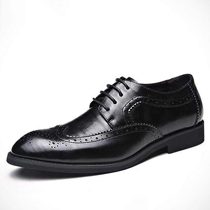 GordonKo Men Lace Up Oxfords Leather