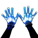 MAGIFIRE Led Skeleton Gloves, 12 Color Changeable