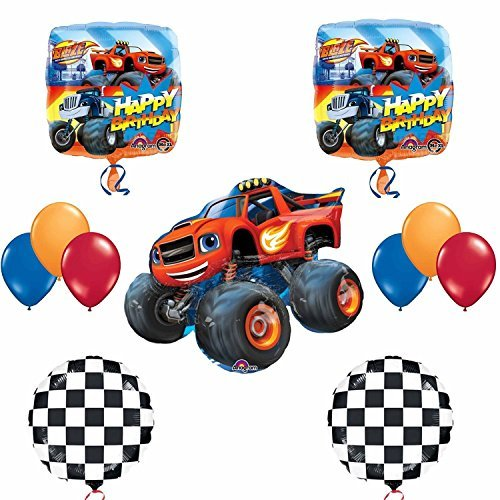 Blaze and the Monster Machines Balloon Decoration Kit