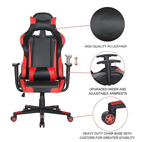 51HOFf7hd3L - Guyou-Racing-Office-Chair-Executive-Swivel-Leather-Chair-Home-Gaming-Chair-Ergonomic-Design-Racing-Gaming-Chair-High-Back-Computer-Chair-With-Lumbar-Support-and-Headrest