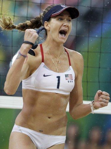 2012 Olympic Poster - Kerri Walsh Jennings 24X36 Poster - 2012 London USA Olympic Volleyball #04