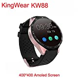 img - for 2016 Smartwatch 3G Kingwear Kw88 Pk Finow X5 X61.39'' Amoled 400400 Smart Watch 3G Calling 2.0Mp Camera Pedometer Heart Rate book / textbook / text book