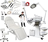 13-in-1 Elite Series Multifunction Diamond Microdermabrasion Facial Machine & Adjustable Hydraulic Bed Table Chair Salon Spa Beauty Equipment