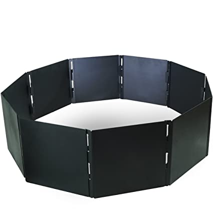 Ordinaire Campfire Portable Fire Pit Ring 40u0026quot; Diameter 10 Stackable Panels Heavy  Steel
