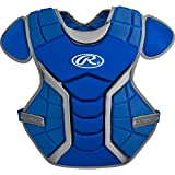 Rawlings  Youth Age 9 - 12 Renegade Chest Protector 14', Royal/Silver