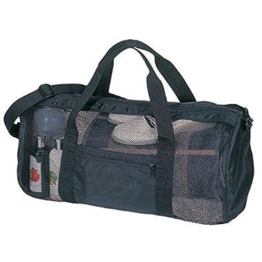 SDI Sport Gym Mesh Roll Bag, Black