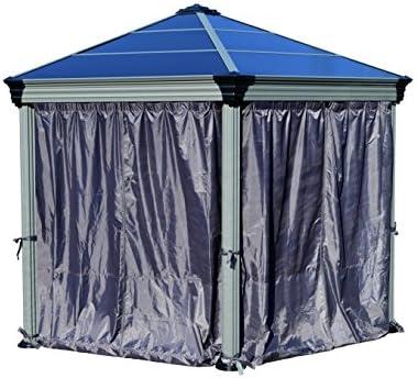 Roma Gazebo cortina Set – 6 piezas: Amazon.es: Jardín