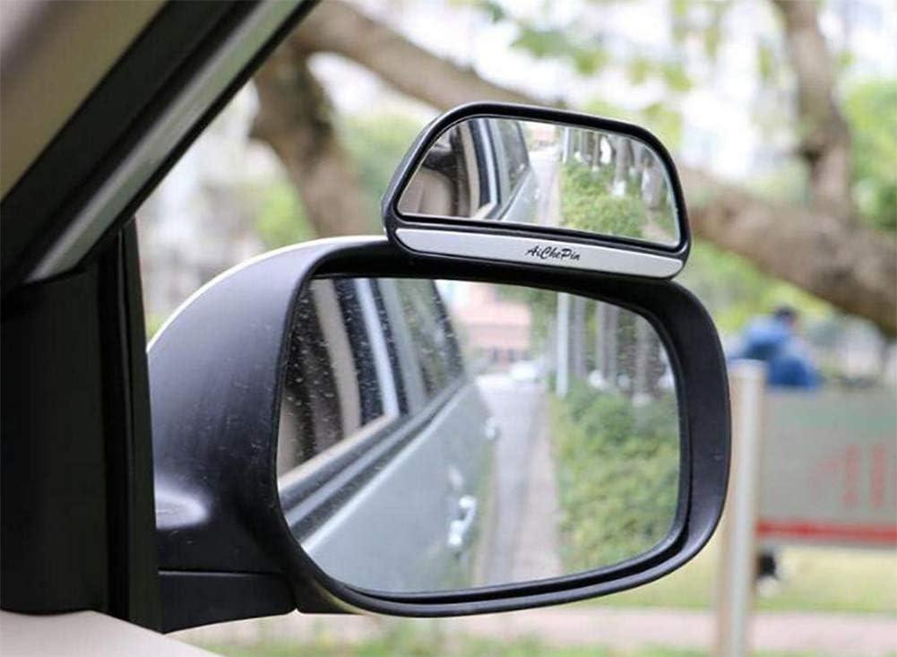 Dogigie 2 X Verstellbare Autorückspiegel Zusatzspiegel Gegen Toten Winkel Black Sport Freizeit