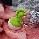 Fat Brain Toys Dimpl Wobbl Green Teether