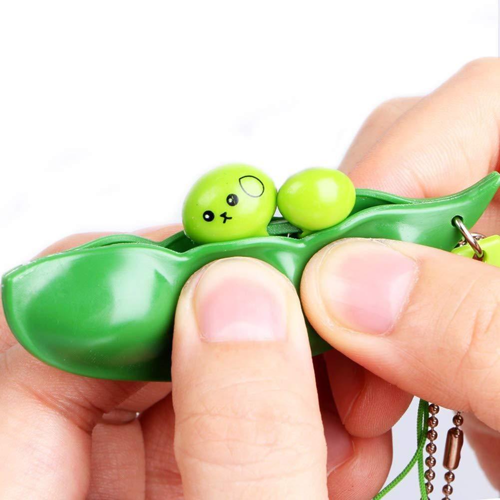 Lanbowo 3 piezas Fidget Toys Puchi Puti Mugen Edamame ...