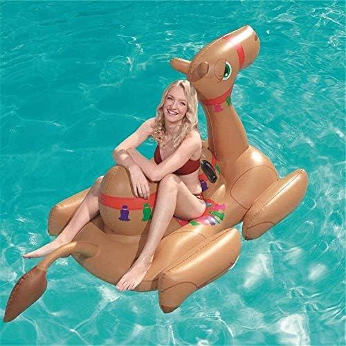 YDD Signore Gonfiabile Gigante Cammello Buoy Montare Un Animale Pool Buoy Bed Pool Uomo Gonfiabile Estate Giocattolo dell'Acqua Canotto Bed