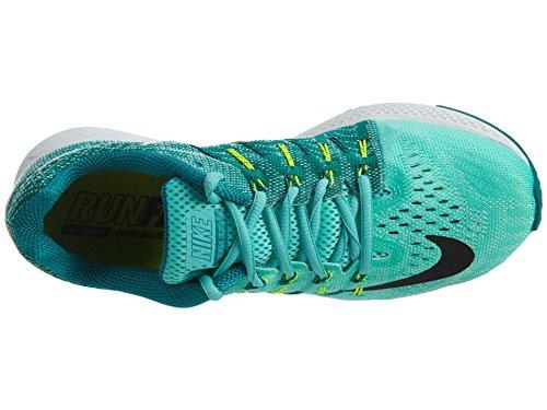 Nike Womens Air Zoom Elite 8 Scarpa Da Corsa Iper Turchese / Nero-rio Teal-volt