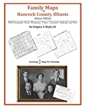 Front cover for the book Family Maps of Hancock County, Illinois by Gregory A. Boyd