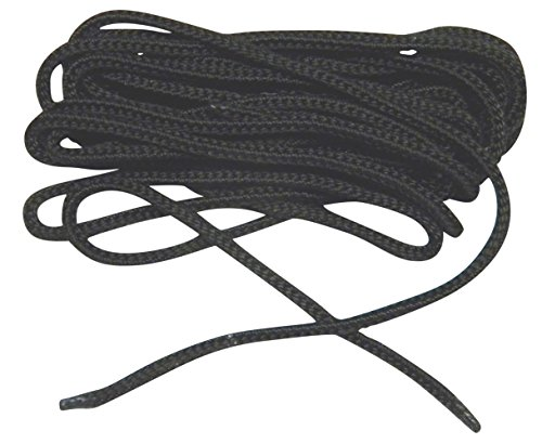60 inch USA BLACK Nylon Speedlace Tactical Combat Boot Laces Shoelaces (2 pair pack)
