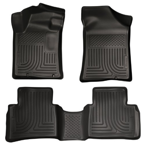 Husky Liners 99641 WeatherBeater Black Front and 2nd Seat Floor Liner