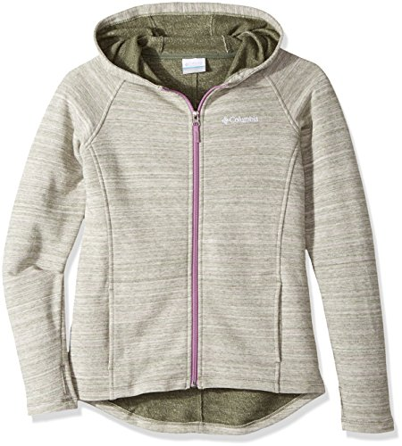 Columbia Girls' Little' Athena Full Zip Hoodie, Violet Haze, Small