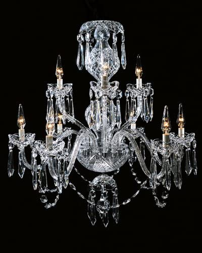 """Chandelier Replacement crystal arms 9/"""" long #3"""