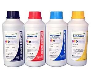 Tinta para recarga compatible Canon pack de 4 botellas de 500ml (todos los modelos)