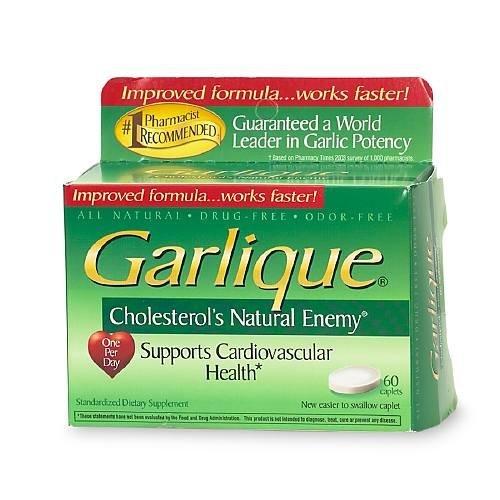 Sun Source Garlique Dietary Supplement Caplets 60 ea For Sale