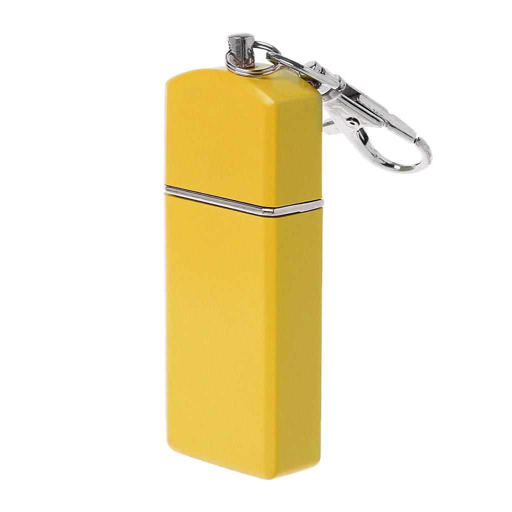 Vert Exing Cendrier Portable Cendrier Mini Poche Cendrier Ext/érieur Accessoire de fumeur dext/érieur pour porte-cl/és