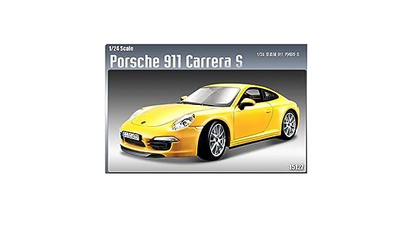 Amazon.com: 1/24 PORSCHE 911 CARRERA S #15127 ACADEMY HOBBU KIT: Toys & Games