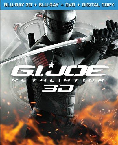 G.I. Joe: Retaliation (Blu-ray 3-D / Blu-ray / DVD / Digital Copy +UltraViolet)