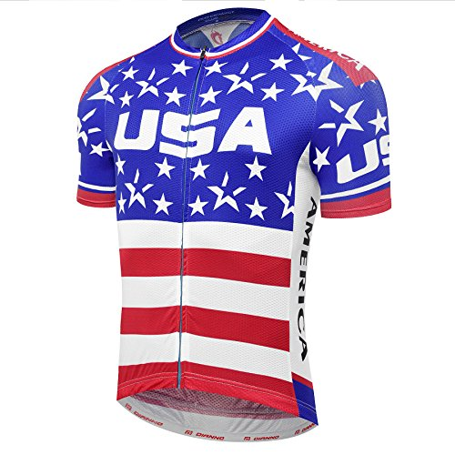 TEAM USA CLUB 3.0 Quality Breathable Cycling Jersey (size:3XL) - Club Cycling Jersey