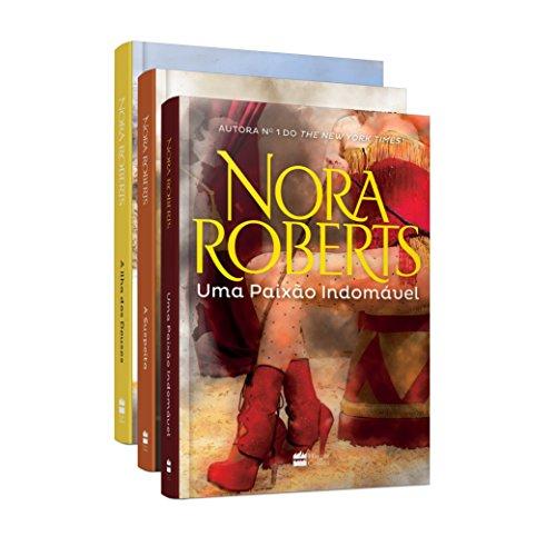 Kit - Nora Roberts. A Suspeita + A Ilha dos Deuses + Uma Paixão Indomável