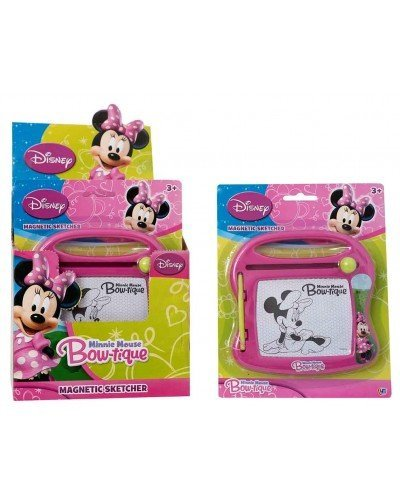 Magic Sketcher (Disney Minnie Mouse Mini Magnetic Sketcher. Draw on the mini magic sketcher and wipe it clean! Perfect for travel and holidays)