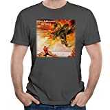 Dorothy Men's Yngwie Malmsteen Trilogy Cover T Shirts DeepHeather