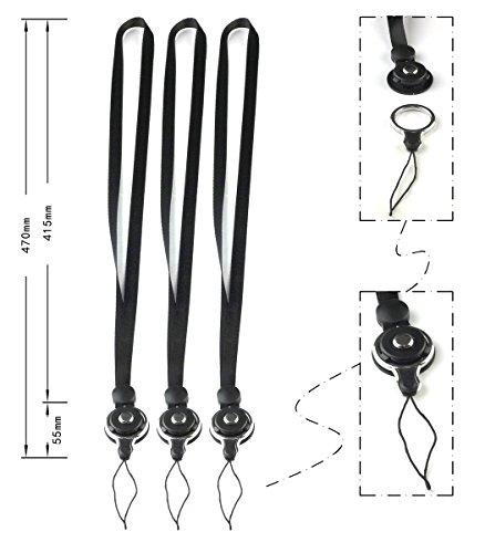 TheHonestBill Bundle of 3 pcs Detachable Neck Strap - Detachable Neck Strap