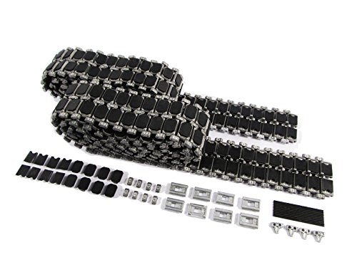 Mato Metal Tracks Set, with Rubber Metal Pads for