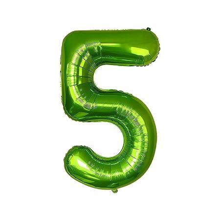 Jingyuu - Globos de cumpleaños para 1 año - Globos de Color ...