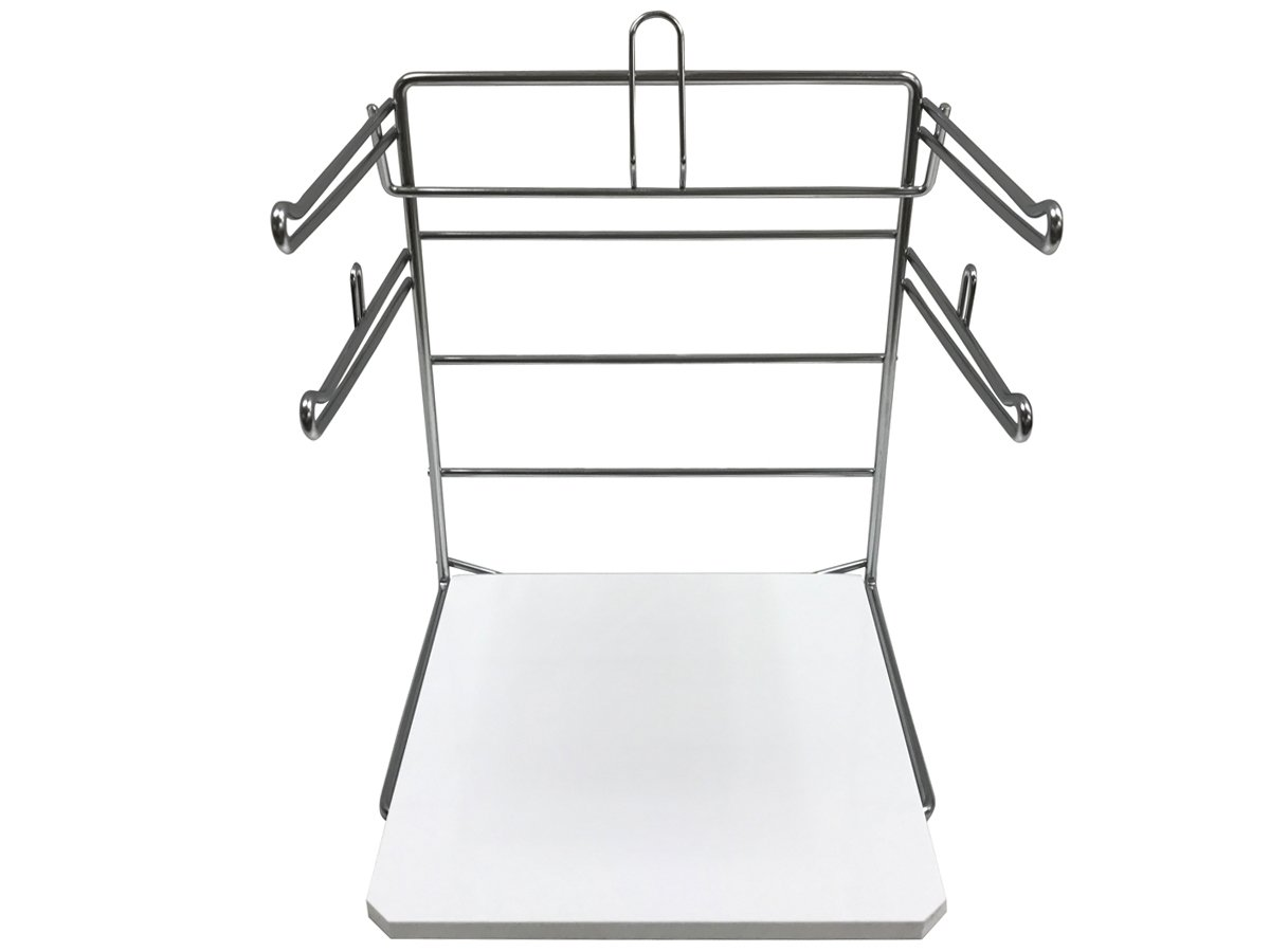Counter Top T-Shirt Bag Rack/Retail Plastic Bag Dispenser & Holder - Bag Stand with Base - 2 Pack by Store Fixtures Direct (Image #6)