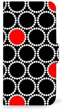 mitas iPhone7 ケース 手帳型  和 和柄 伝統 着物 輪鹿の子 C (249) SC-0279-C/iPhone7