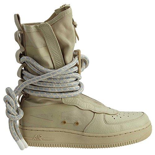 Nike SF Air Force High Top Womens Boots Rattan/Rattan/White aa3965-200 (6.5 B(M) US) by NIKE (Image #2)
