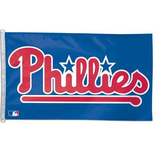 lphia Phillies WCR07412091 Team Flag, 3' x 5' ()