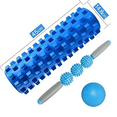 Équipement de conditionnement physique, musculation creuse de bâton de massage de bâton de massage de masse de muscle pour le jeu de massage de muscle