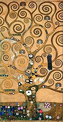 The Tree of Life By Gustav Klimt. 100% Hand Painted. Oil On Canvas. Reproduction. (Unframed and Unstretched).